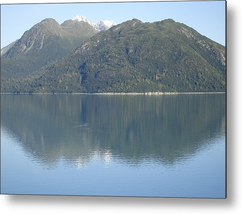 Glacier Bay Metal Print featuring the photograph Reflective Moment In Glacier Bay by James E Weaver
