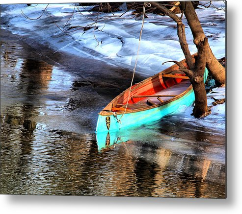 Boat Metal Print featuring the photograph Row Your Boat by Valerie Morrison