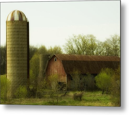 Farm Metal Print featuring the photograph Rural Americana-02 by Neil Doren