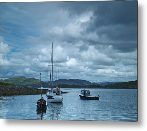 Anchorage Metal Print featuring the photograph Safe Haven by Steve Watson