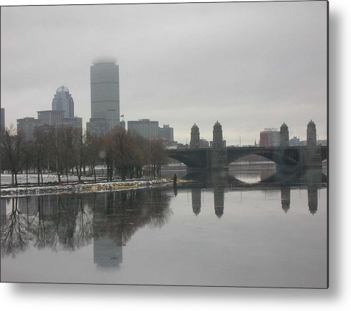 Metal Print featuring the photograph Salt And Pepper by Nancy Ferrier