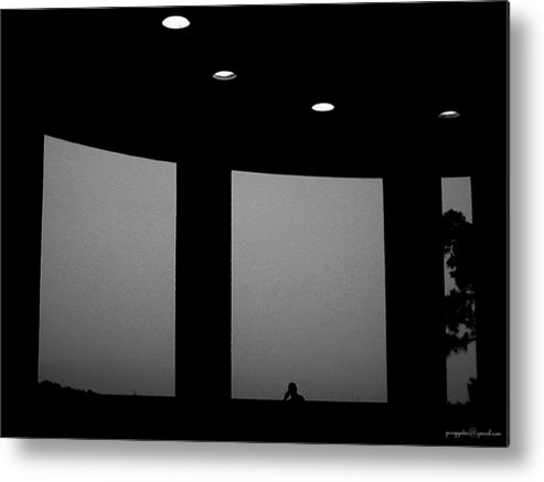 Window Metal Print featuring the photograph Solitude by Gerard Yates
