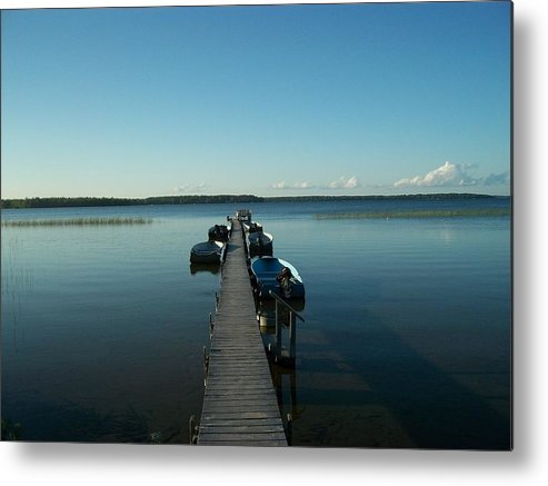 Metal Print featuring the photograph South Manistique Lake by Mark Oertel