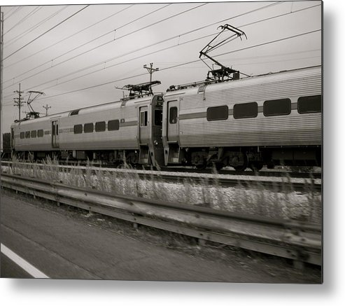 Landscape Metal Print featuring the photograph South Shore Line by Moby Kane