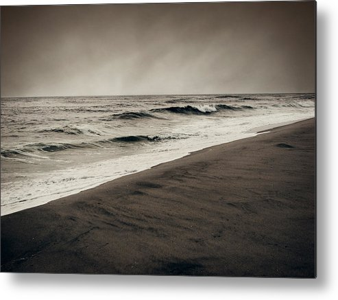 Ocean Metal Print featuring the photograph Spending My Days Escaping Memories by Dana DiPasquale