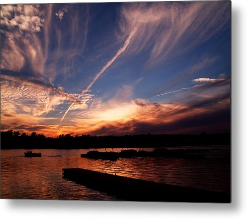 Sky Metal Print featuring the photograph Spirits In The Sky by Gaby Swanson