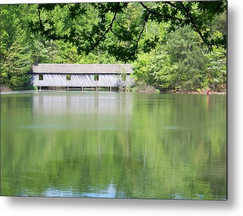 Bridge Metal Print featuring the photograph Strength by Jessica Burgett