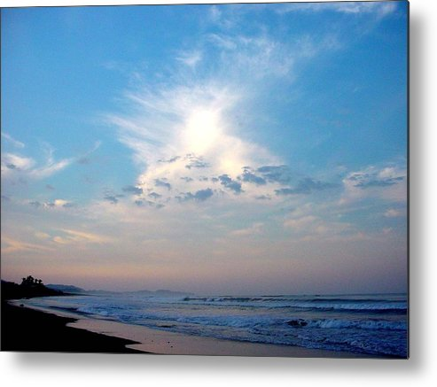 Sunrise Metal Print featuring the photograph Sunrise In Costa Rica by PJ Cloud
