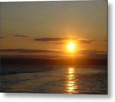 Sunset Metal Print featuring the photograph Sunset On The Horizon 7 by Sharon Stacey