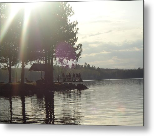 Water Metal Print featuring the photograph Sunshine Afternoon by Stephanie Parent