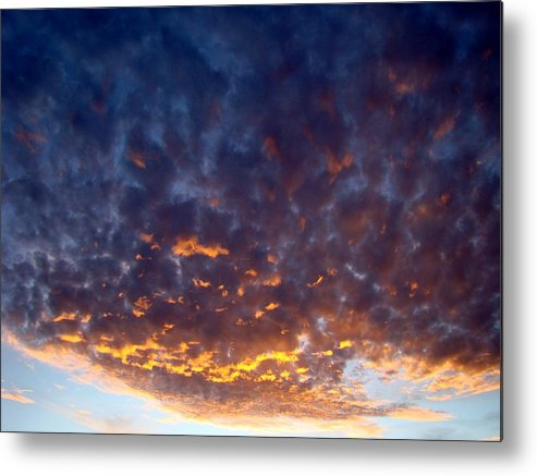 Cloud Metal Print featuring the photograph Supernatural Cloud One by Ana Villaronga