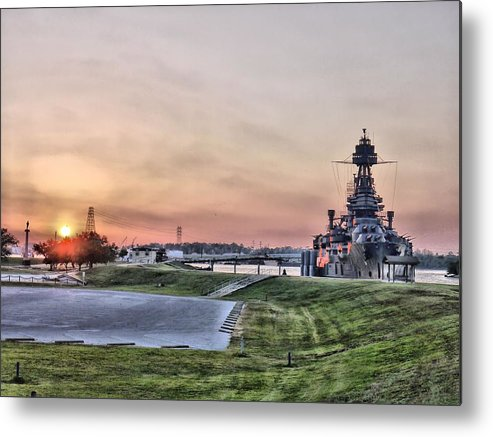 Hdr Metal Print featuring the photograph Texas Sunset by Arthur Herold Jr