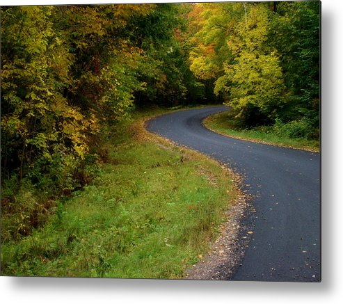 Twin Lakes Metal Print featuring the photograph Winding Into Wisconsin by Tingy Wende