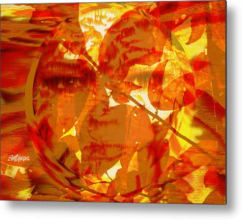 Oriental Metal Print featuring the digital art Empress Of The Sun by Seth Weaver