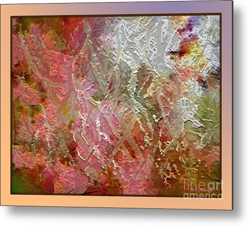 Abstract Metal Print featuring the photograph Tangled Branches II by Dee Flouton