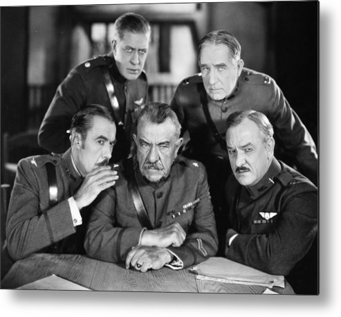 -ecq- Metal Print featuring the photograph Hard-boiled Haggerty, 1927 by Granger
