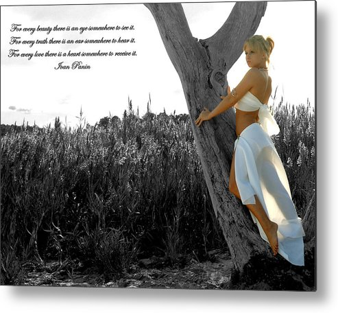Beach Metal Print featuring the photograph Beauty by Travis Aston