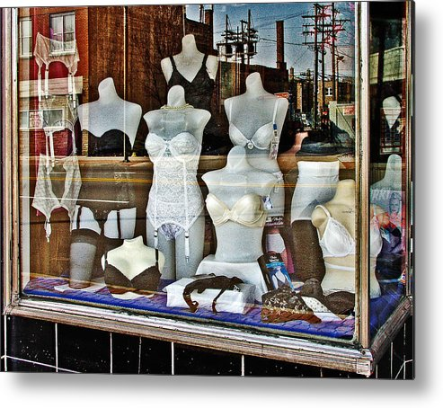 Color Metal Print featuring the photograph Lingerie by Curtis Staiger