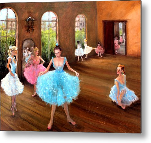 Hall Of Dance Metal Print featuring the painting Hall Of Dance by Graham Keith