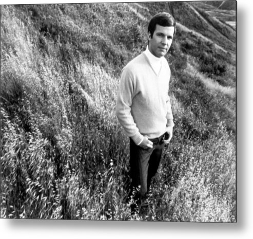 1960s Fashion Metal Print featuring the photograph Bobby Vee, Ca. 1968 by Everett