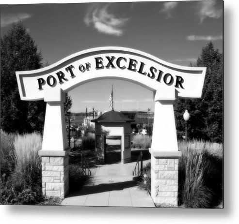 Port Metal Print featuring the photograph Port Of Excelsior by Perry Webster