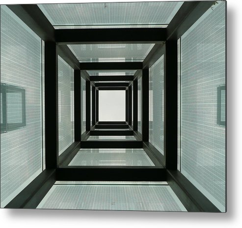Holocaust Memorial Metal Print featuring the photograph Tunnel Vision by Jeff Bord