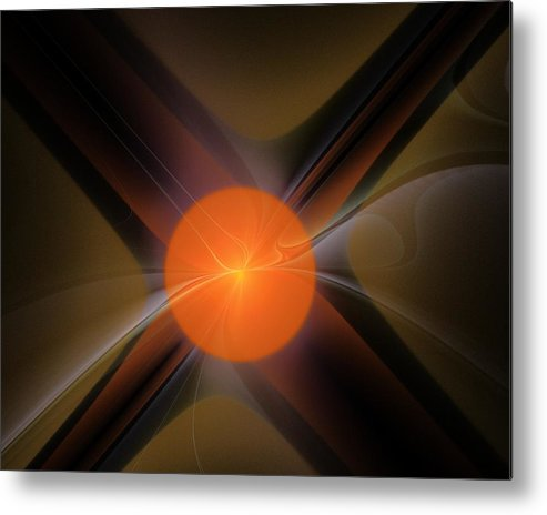 Fine Art.modern Art Metal Print featuring the digital art Abstract 051511 by David Lane