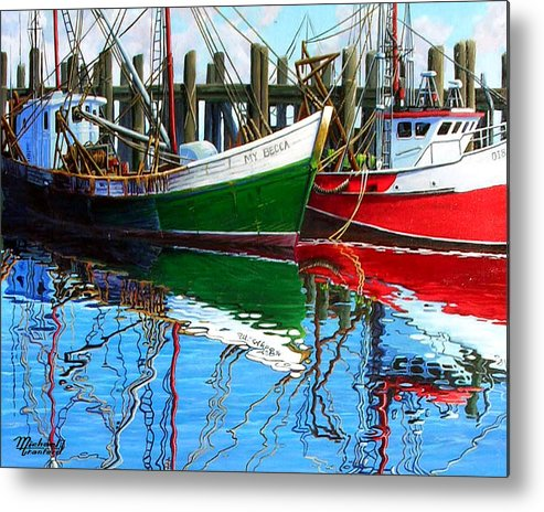 Cape Cod Metal Print featuring the painting Cape Cod Paintings by Michael Cranford