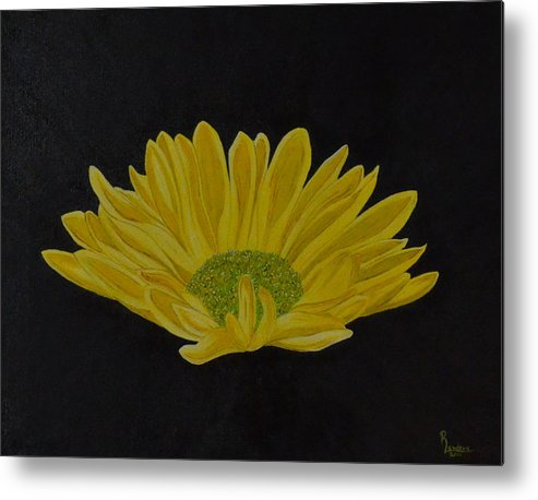 Daisy Metal Print featuring the painting Daisy by Roberta Landers