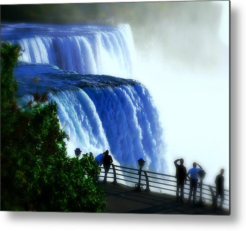 Niagra Falls Metal Print featuring the photograph Niagra Falls by Perry Webster