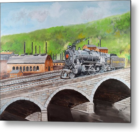 print photos from iphone prr k4 crossing bridge johnstown pa metal print by 15906