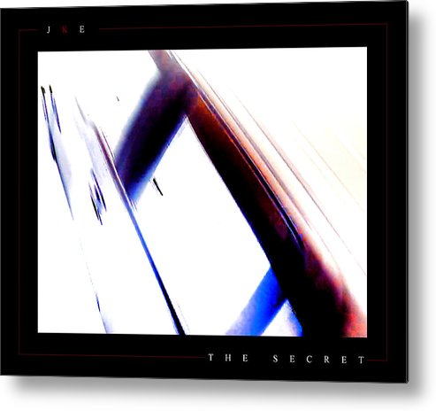 Abstract Metal Print featuring the photograph The Secret by Jonathan Ellis Keys