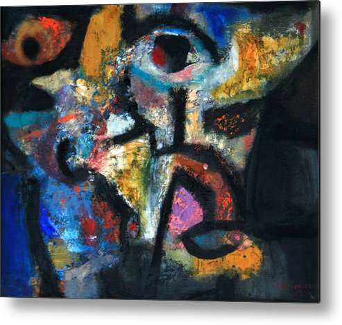 Africa Metal Print featuring the painting Africa by Vladimir Kozma