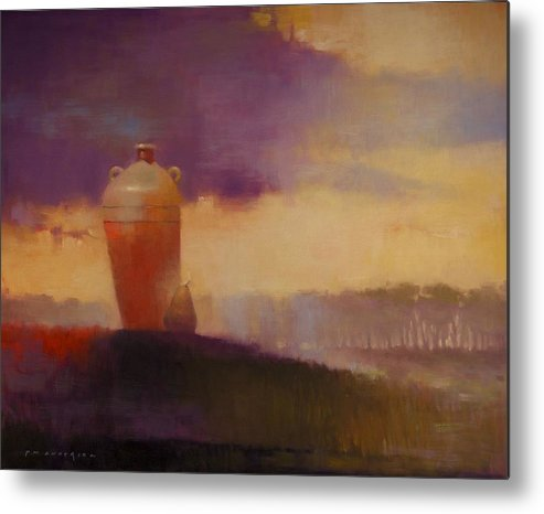 Jug Metal Print featuring the painting As It Is by Paul Anderson
