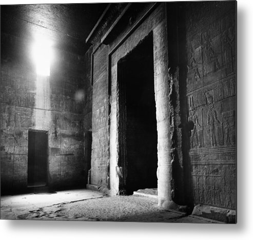 African Metal Print featuring the photograph Egypt: Dendera: Temple by Granger