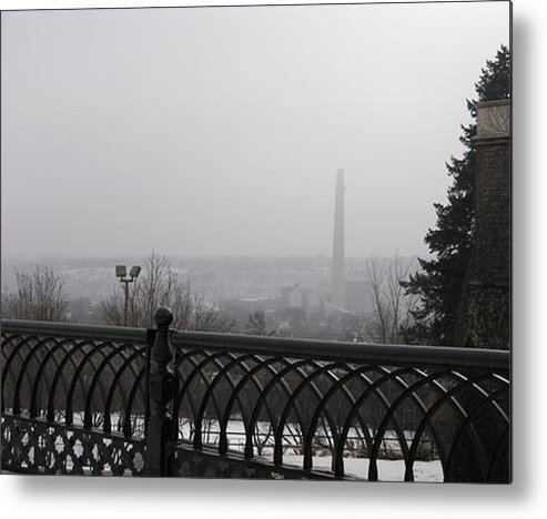 Metal Print featuring the photograph View From Ramsey Hill by Janis Beauchamp
