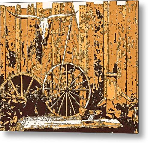 Al Bourassa Metal Print featuring the photograph The West - Wall Art by Al Bourassa