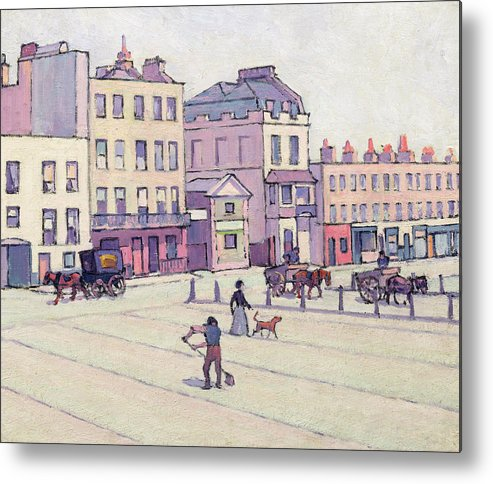 Xyc153929 Metal Print featuring the photograph The Weigh House - Cumberland Market by Robert Polhill Bevan