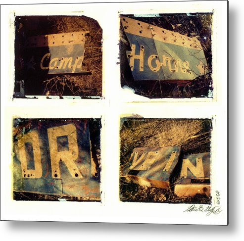 Pittsburgh Metal Print featuring the photograph Camp.horne.drive.in. by Steven Godfrey