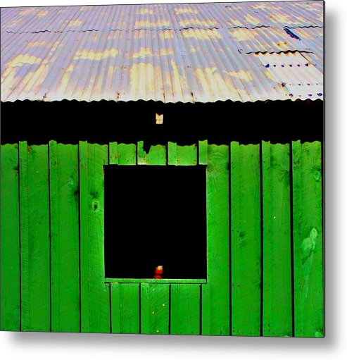 Tin Roof Metal Print featuring the photograph Barn by Jill Tennison