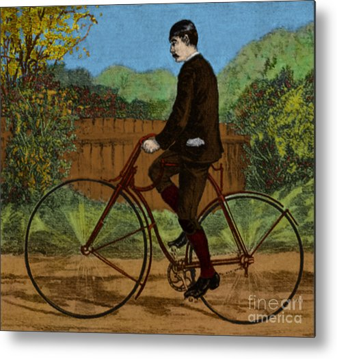Rover Bicycle Metal Print featuring the photograph The Rover Bicycle by Science Source