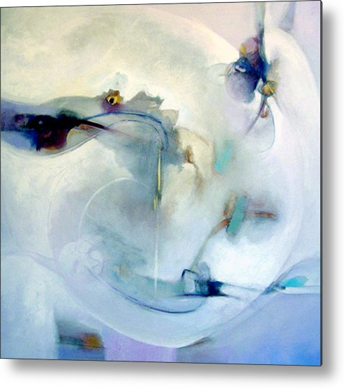 Abstract Metal Print featuring the digital art Desires Afloat by Dale Witherow