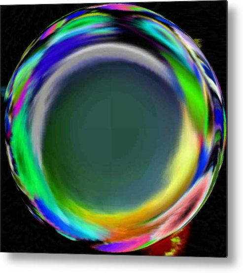 Abstract Art Metal Print featuring the digital art Soloist 2nd Wind by Brenda L Spencer