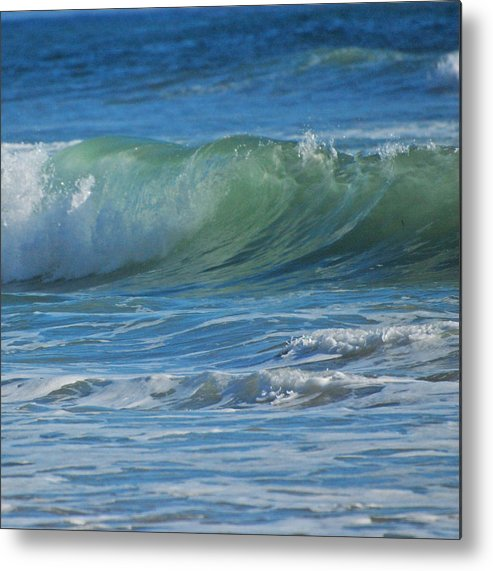 Waves Metal Print featuring the photograph Painterly Waves by Jean Booth