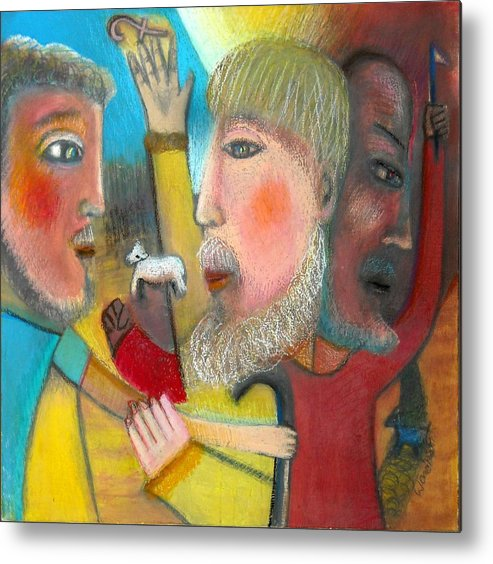 Metal Print featuring the painting Return Of The Prodigal Son by Ward Smith