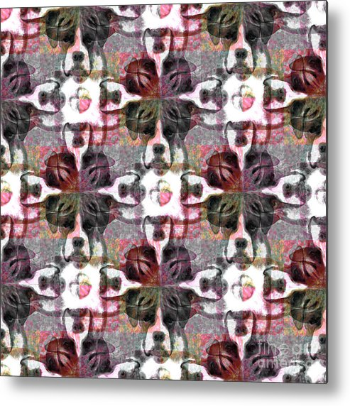 Animal Metal Print featuring the photograph Boxer Abstract 20130126v4 by Wingsdomain Art and Photography
