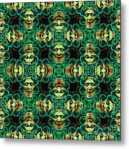 Medusa Metal Print featuring the photograph Medusa Abstract 20130131p38 by Wingsdomain Art and Photography
