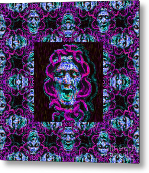 Medusa Metal Print featuring the photograph Medusa's Window 20130131m180 by Wingsdomain Art and Photography