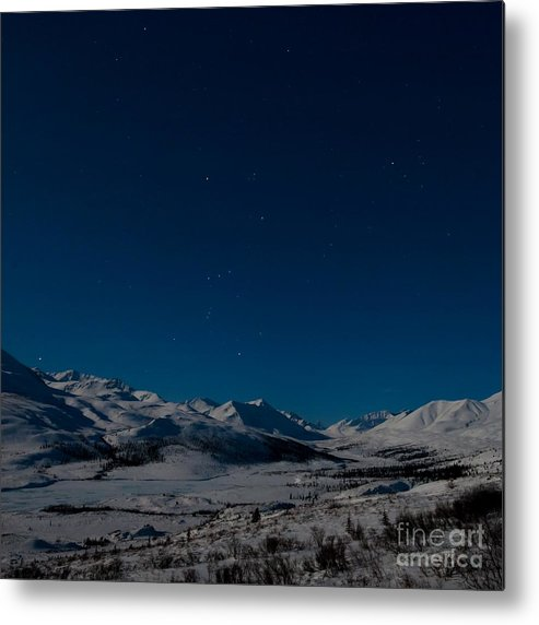 Dempster Highway Metal Print featuring the photograph The Presence Of Absolute Silence by Priska Wettstein