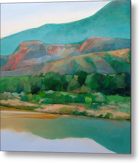 Chama River Metal Print featuring the painting Chama River by Cap Pannell